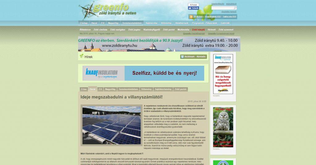 2015.07.30.-Greenfo-1024x535 Sajtómegjelenések