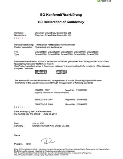 Growatt_CE_DECLARATION_OF_CONFIRMITY_TL_1