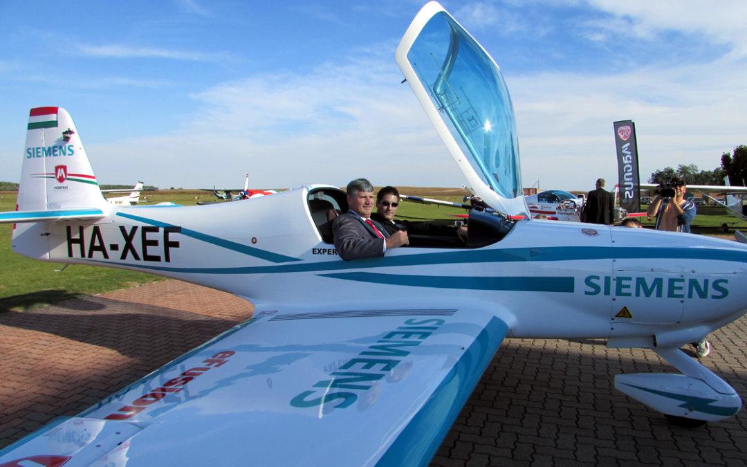 Elektromos repülőgépeket fejlesztenek a magyar szakemberek