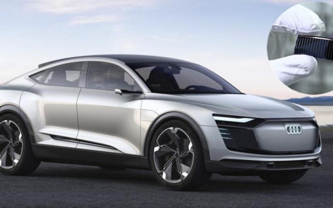 Jön a napelemes Audi!