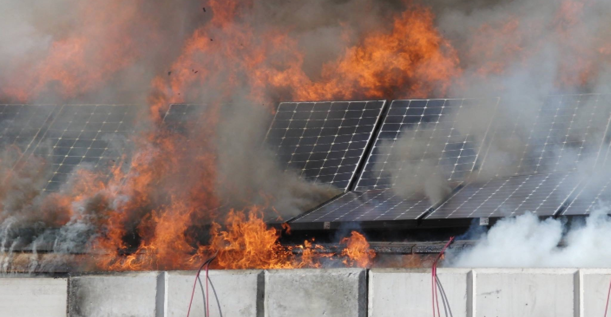 napelem tűz