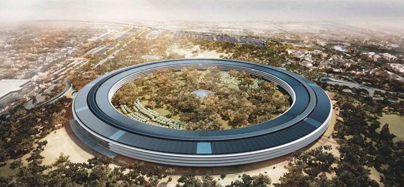 Bárki megnézheti az Apple napelemes főhadiszállását