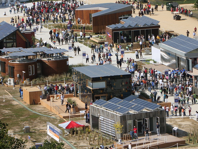 Nemzetközi napelemes-ház építő versenyt rendeznek Magyarországon