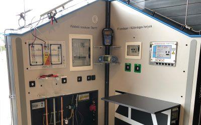 Különleges demonstrációs mérőfallal bővült az EDU-Solar eszközparkja