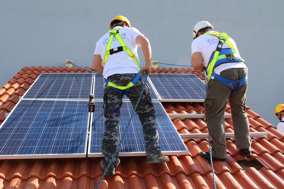 eu solar napelemszerelő képzés