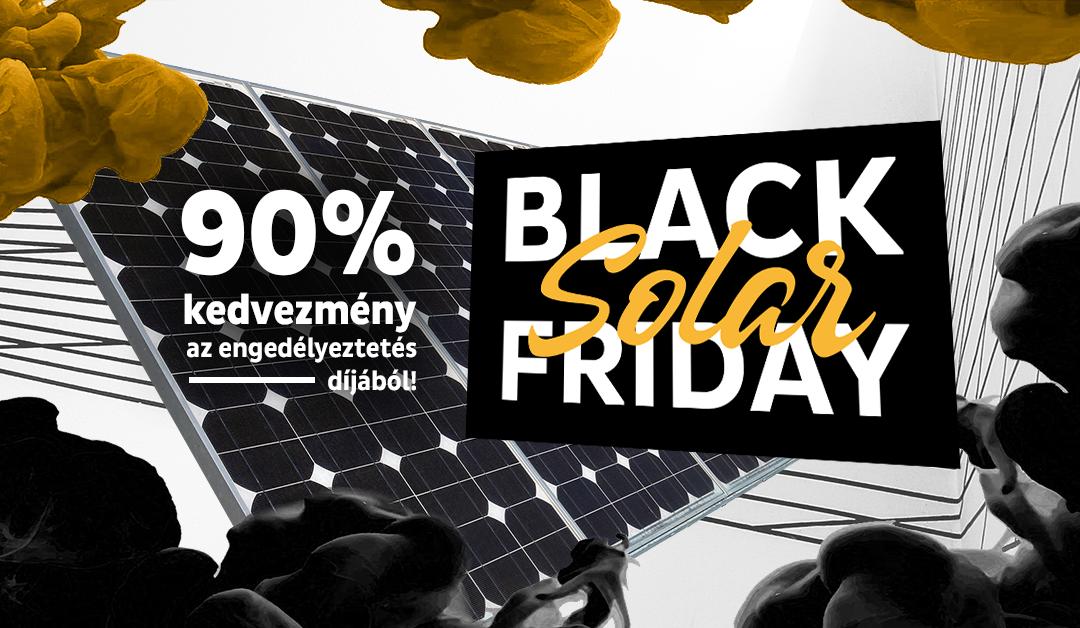 Nagy BLACK SOLAR FRIDAY az EU-Solar Zrt-nél!